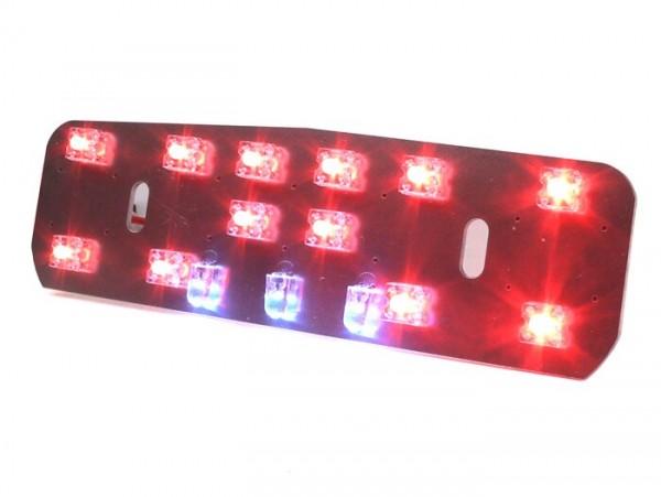 Rücklicht-LED- LAMBRETTA nur Reflektor- LI (Serie 1-2, bis Bj. 1960), TV (Serie 1-2, bis Bj. 1960) - 6V