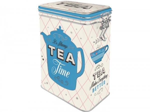 "Kaffeedose, Aromadose -Nostalgic Art- ""Tea"" - 7.5x11x17.5cm (1.3l)"