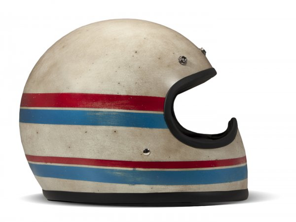 Casco -DMD Handmade- casco cross, vintage - Line - M (57-58cm)