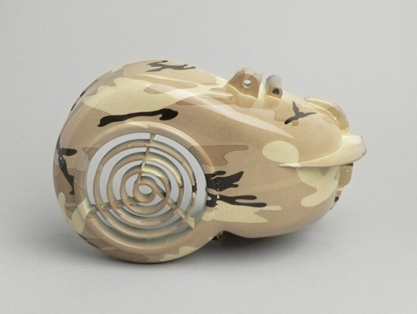Flywheel cover -CLASSIC- Minarelli 50cc AC horizontal cylinder - camouflage desert