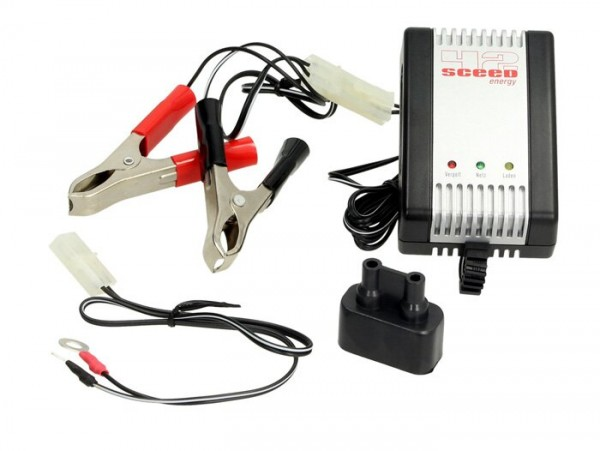 Battery charger 2V, 6V, 12V -SCEED 42 Energy AL800- 0.8A - automatic