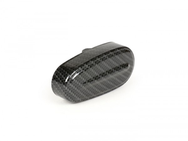 Fork link cover -CIF carbon look- Vespa V50, ET3, PV125