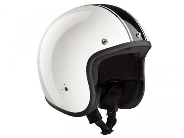 Helmet -BANDIT ECE Classic Jet- white - M1 (57cm)