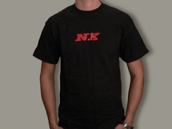 T-Shirt -NITROUS JUNKIE- schwarz - X Large