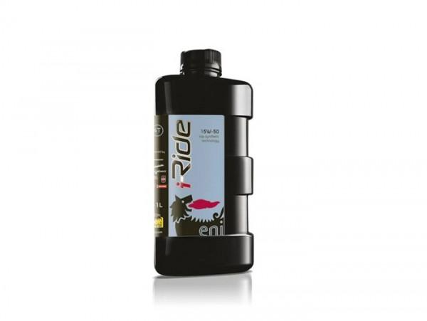Öl - Motoröl -ENI (AGIP) I-Ride PG- 4-Takt SAE 15W-50 synthetisch - 1000ml