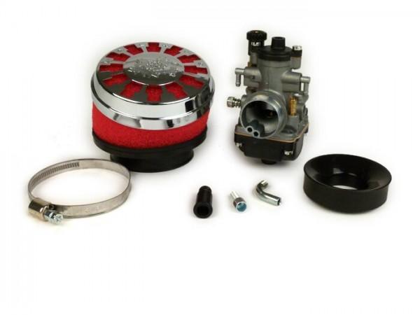 Vergaserkit -MALOSSI MHR TEAM 19mm Dellorto PHBG BS- Minarelli 50 ccm, Piaggio 50 ccm 2-Takt- Aw=23mm