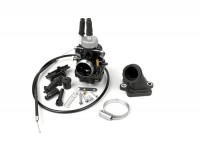 Vergaserkit -BGM Pro 19mm Racing- Peugeot 50 ccm 2-Takt (horizontal) - JETFORCE 50 C-TECH, LUDIX 50