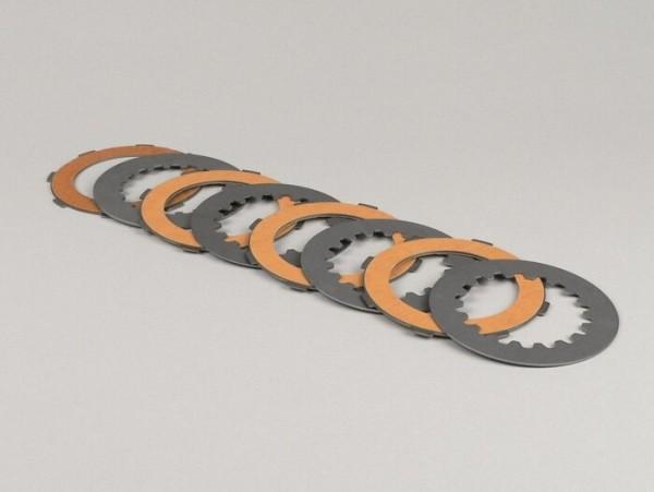 Kupplungsbeläge -NEWFREN Race Carbon - Vespa Cosa2- 4-Scheiben