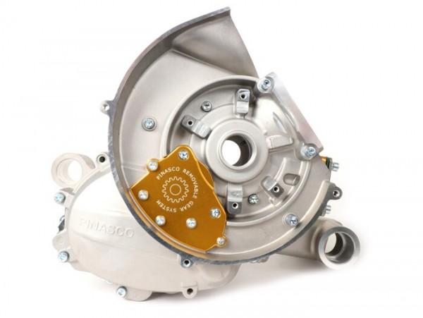 Motorgehäuse -PINASCO Slave 8X, Membraneinlass, inkl. Membran- Vespa Smallframe V50, V90, SS50, SS90, V50 SR, PV125, ET3, PK50 S/XL, PK50 S/XL, PK80 S/XL, PK125 S/XL, PK125 ETS
