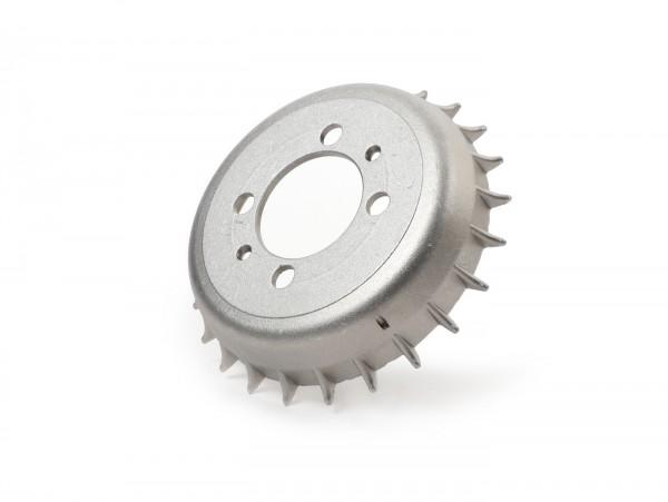 """Bremstrommel vorne 8"""" -OEM-QUALITÄT- Aluminium mit Kühlrippen- Vespa Wideframe VN1, VL, VB1T, Largeframe VNA1T, VNA2T, VNB, VBA1T, VBB1T, VBB2T"""