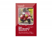 Card game -DAS BLECHROLLER QUARTETT 5- classic scooters from 1951 to 2016