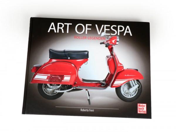 Book -Art of Vespa- by Roberto Ferri
