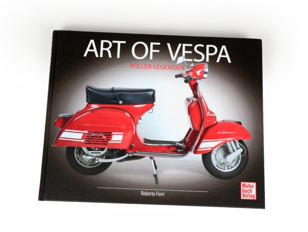 Libro -Art of Vespa- de Roberto Ferri