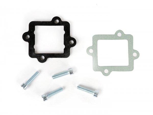 Junta distanciadora caja de láminas -MALOSSI- 5mm, Minarelli horizontal, Suzuki-Morini, CPI/QJ
