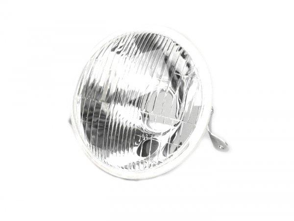 Scheinwerfer -VESPA Ø=146mm- Vespa PX alt, PX Lusso, Rechtsverkehr - Glas (mit DGM Prüfzeichen) - ohne Fassung
