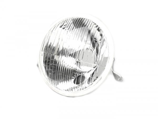 Faro -VESPA Ø=146mm- Vespa PX, PX Iris, tráfico lado derecho - cristal (homologado)