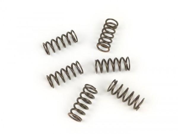 Kupplungsfeder-Set -BGM PRO 10,5N/mm- Vespa PK50 XL FL (V5N1T), PK50 HP (V5N2T), PK50 XL2 (V5X3T), PK125 N FL (VMX7T), PK125 XL2 (VMX6T) - schwarz - 6 Stück