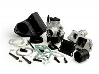 Kit carburateur -MALOSSI 2 goujons, 25mm Dellorto PHBL, boite à clapets- Vespa V50, PV, ET3
