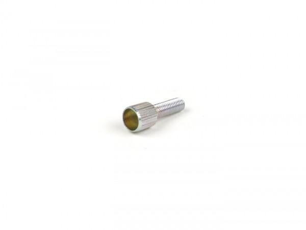 Tubo cable de gas -PIAGGIO- M5x0,75 - 0° - con contratuerca
