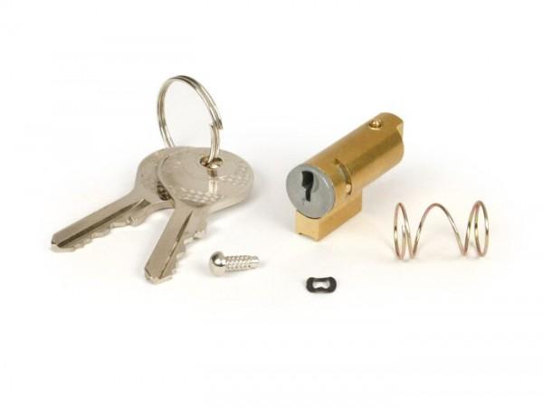 Steering lock -OEM QUALITY 31x6mm- Vespa Rally180 (VSD1T), Rally200 (VSE1T), Sprint (VLB1T, -077174), GL (VLA1T), GS160 (VSB1T, 55507-), SS180 (VSC1T),V50 N (V5A1T, -236000), V90 (V9A1T), 50 SS/Super Sprint (V5SS1T), 90 SS/Super Sprint (V9SS1T), Supe