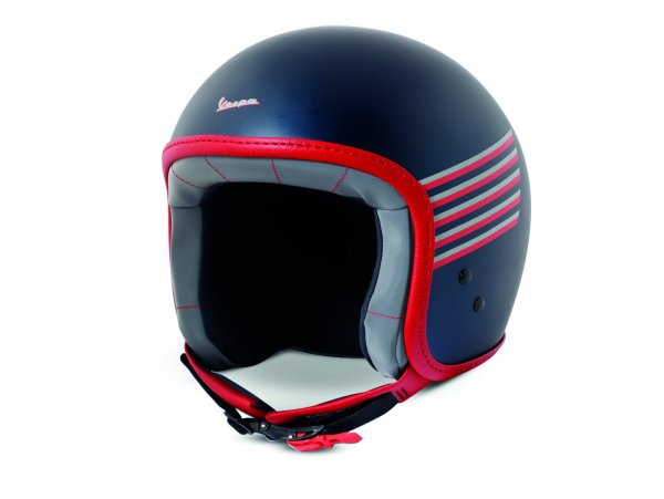 Casco -VESPA casco jet Graphic- blu M (57-58 cm)